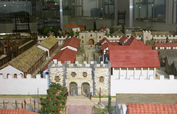 building medieval settings wargame miniatures
